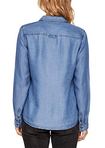 s Blue Denim Chemisier Oliver RED Femme LABEL Non Str qBqgfCOw