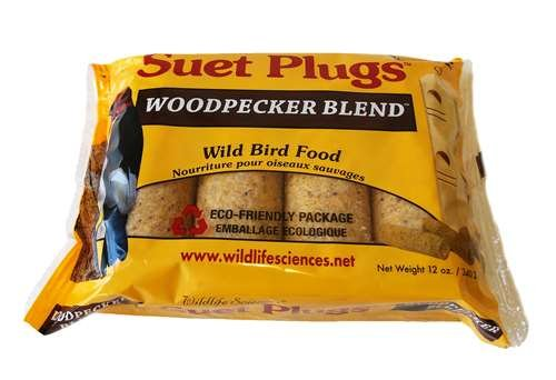 Woodpecker Blend Suet Plug