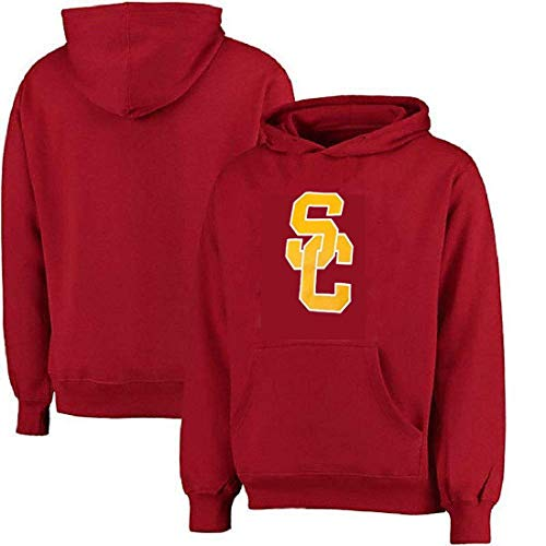 (Profile Varsity University of Southern California Men's Big & Tall USC Trojans Logo Pullover Hoodie (2X))