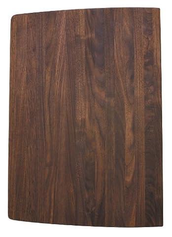 Blanco 222591 Wood Cutting Board, Fits Performa Silgranit II Super Single Bowl, Walnut - Finish Cutting Boards