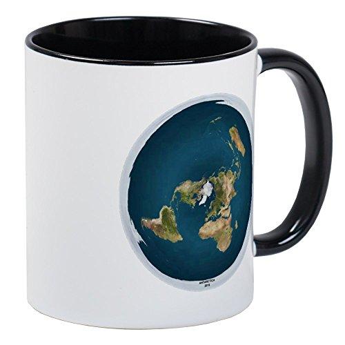 - CafePress Flat Earth 1 Mugs Unique Coffee Mug, Coffee Cup