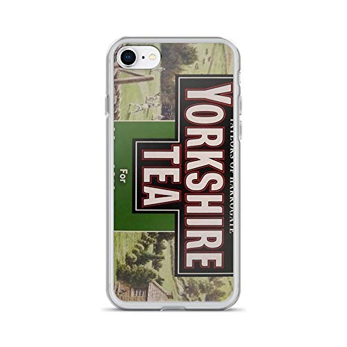 iPhone 7 Case iPhone 8 Case Clear Anti-Scratch I Love Yorkshire Cover Phone Cases for iPhone 7/iPhone 8, Crystal -