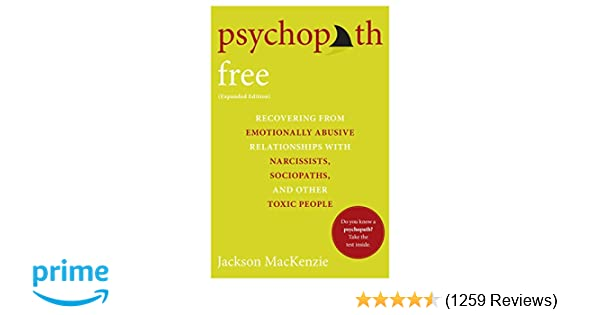 Amazon com: Psychopath Free (Expanded Edition): Recovering