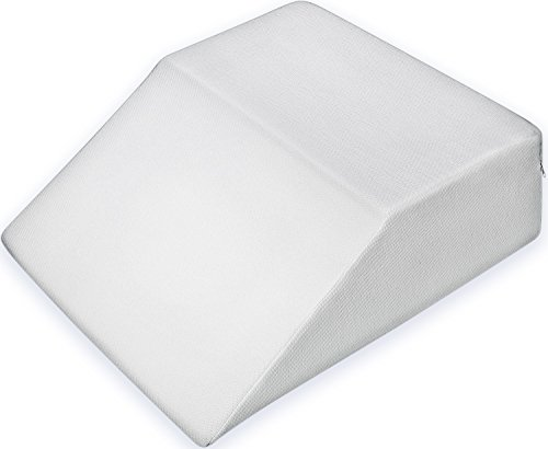 "PharMeDoc Bed Wedge Pillow w/ Washable Case – Premium Therapeutic Support for Sleeping, Back & Leg Pain – Layered Memory Foam – Promotes Spinal & Digestive Support (8"" – 21"" – 24"")"