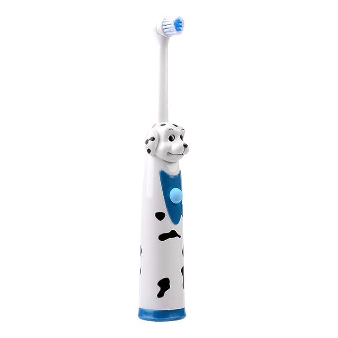 inkint dibujos animados Disney Niños Cepillo de dientes eléctrico dientes Cuidado boca Higiene Cepillo de dientes Masaje resistente al agua por ultrasonido ...
