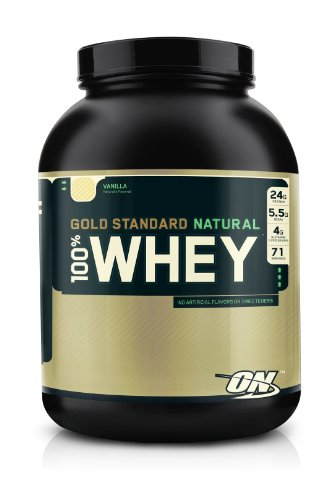 OPTIMUM NUTRITION - 100% WHEY GOLD STANDARD NATURAL - VANILLA