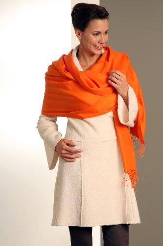 Parvenu Pashmina - Pashmina - Femme -  Orange - Taille unique