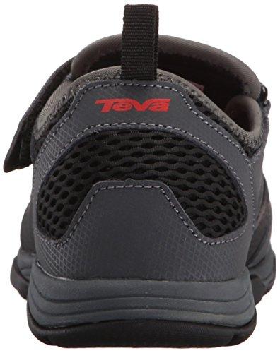 Teva Rollick Outdoor Shoe (Toddler/Little Kid/Big Kid) Black/Grey-t