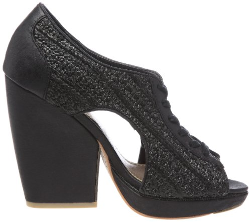 Feud Britannia Whip - Zapatos de cuero para mujer Negro