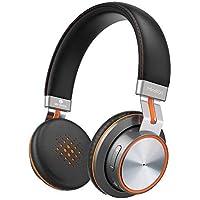 Auriculares Bluetooth 4.1, MindKoo Auriculares Diadema On-Ear Sonido Estéreo HiFi con Almohadillas Protectoras de Memoria Suave, Mic Incorporado, Modo Alámbrico e Inalámbrico para iPhone, Smartphone y Más