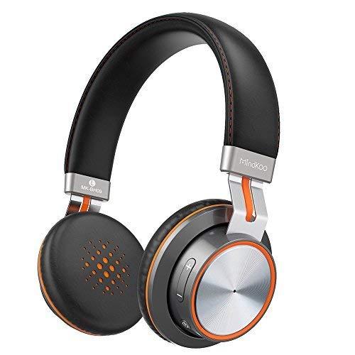 Auriculares Bluetooth 4.1, MindKoo Auriculares Diadema On-Ear Sonido Estéreo HiFi con Almohadillas Protectoras de Memoria...