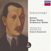Stravinsky: Ballets/Stage Works/Orchestral Works (8 CDs)