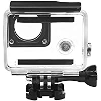 Caja de Carcasa Impermeable, Waterproof Underwater Diving Protective Housing Cover Case Kit For GoPro Hero 3 3+ 4 Accessories Shell Protective Hard Case🌵