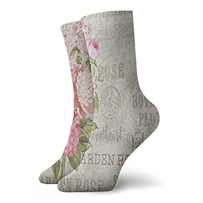 Crew Socks Shabby Chic Floral Flower Stylish Unisex Casual Stocking Decoration Sock Clearance For Woman - Pattern 5