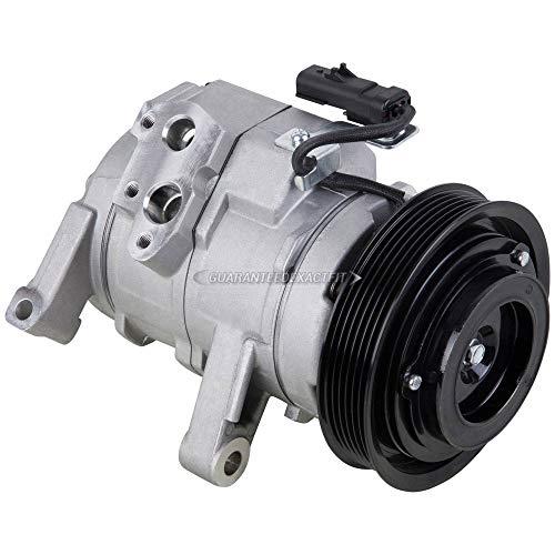 AC Compressor & A/C Clutch For Dodge Ram 1500 Dakota Jeep Grand Cherokee Mitsubishi Raider - BuyAutoParts 60-01742NA NEW