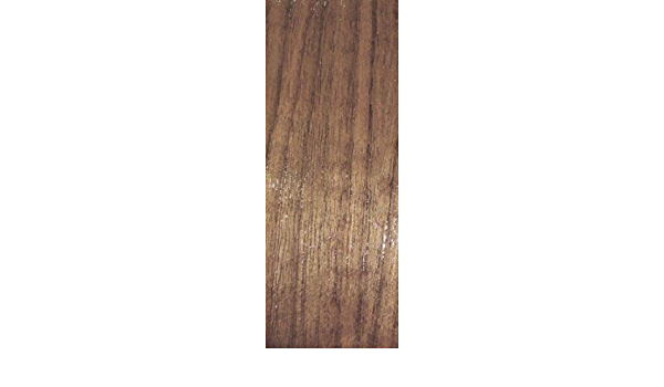 "Walnut wood edgebanding 9//16/"" x 120/"" nonglued no adhesive on thin fleece back"