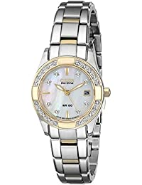 Citizen Women's Eco-Drive Regent Two-Tone Diamond Watch EW1824-57D