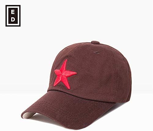 sdssup Gorra de béisbol de Estrella de Cinco Puntas para Hombre ...
