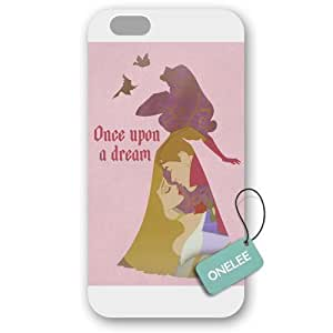 Onelee - Customized Sleeping Beauty iPhone 6 Plus 5.5 Hard Plastic case cover - White 02