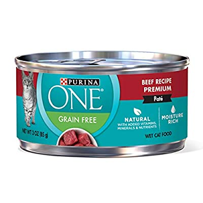 Cat Food Purina ONE Natural Adult Canned Wet Cat Food – (24) 3 oz.... [tag]