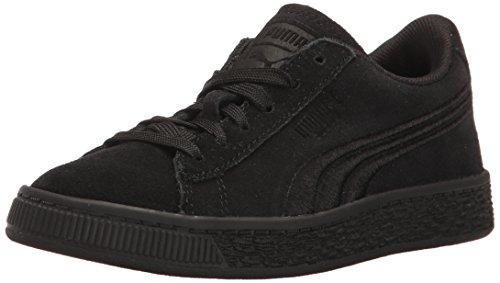 PUMA Unisex-Kids Suede Classic Badge Sneaker, Black Black, 7 M US Big - Code Sports Discount Warehouse