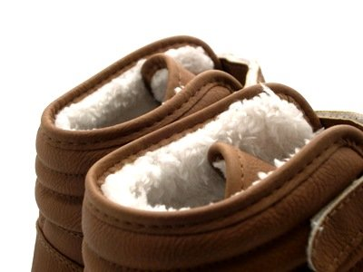 NEW WOMENS FUR LINED HI TOP TRAINERS WINTER ANKLE BOOTS PLIMSOLES LADIES SHOES 3 - 8 Brown uoF4kLd