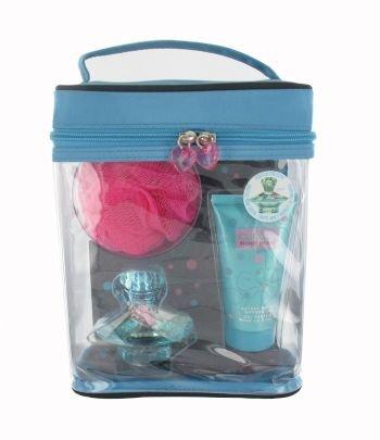 Britney Spears Curious Gift Set 30ml EDP + 50ml Shower Gel + Bath Pouf + Bag