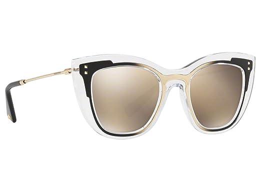 Amazon.com: Valentino VA 4031 - Gafas de sol transparentes ...