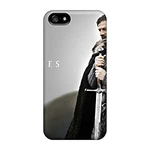 Anti-Scratch Hard Phone Case For Iphone 5/5s With Support Your Personal Customized Vivid Machine Head Band Pictures ChristopherWalsh