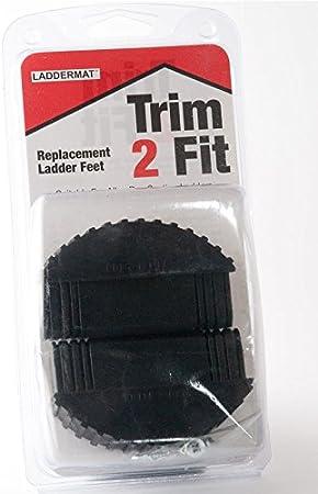LadderMat - Patas de reemplazo para escaleras por sección (recortar para calzar): Amazon.es: Bricolaje y herramientas