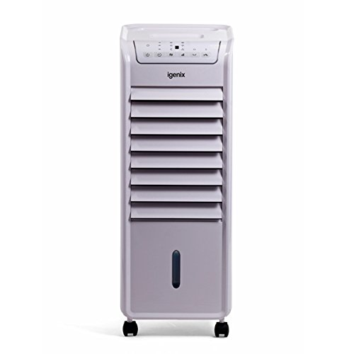 Igenix IG9704 4-in-1 Evaporative Air Cooler with Heating Function, 2000 W -...