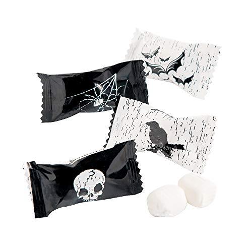 Halloween Candy Bats (Spooky Halloween Candy Buttermints (108 mint candies) Skull, Bats and)