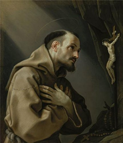 Saints Row 3 Costume Ideas (The High Quality Polyster Canvas Of Oil Painting 'Guido Reni,Saint Francis Adoring A Crucifix,1631-1632' ,size: 12x14 Inch / 30x35 Cm ,this Best Price Art Decorative Canvas Prints Is Fit For Game Room Decor And Home Decoration And Gifts)