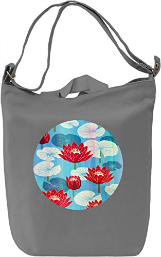 Exotic Flowers Borsa Giornaliera Canvas Canvas Day Bag| 100% Premium Cotton Canvas| DTG Printing|