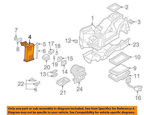 (Volkswagen 1J1 819 031 B, HVAC Heater Core)