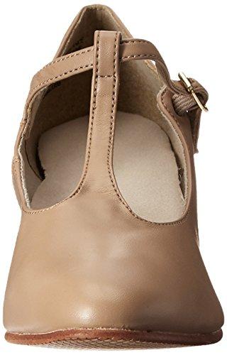 Capezio Women's Jr. Footlight T-Strap Dance Shoe Caramel hxVjD