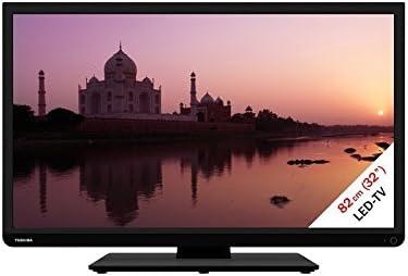 Toshiba 32W1433DG LED TV - Televisor (HD Ready, A, 16:9, 16:9, 1366 x 768, 1080i, 1080p, 480i, 480p, 576i, 576p, 720i, 720p): Amazon.es: Electrónica