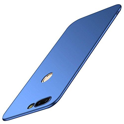 SMTR Oneplus 5T Funda, Calidad Premium Cubierta Delgado Caso de PC Hard Gel Funda Protective Case Cover para Oneplus 5T -Oro rosa Azul