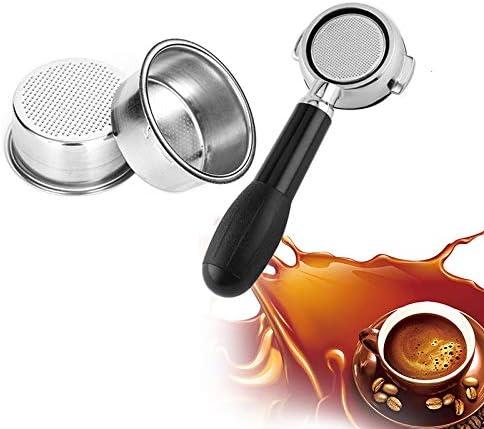 ZYHZP Filtro de café Copa 51mm no presurizado Filtro Cesta for ...