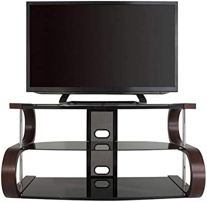 TV Furniture Direct - Mueble de TV de Madera Curvada para televisores de hasta 55