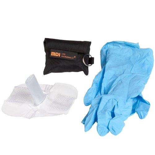 Microtek Medical 2905 CPR Microkey Pro Mask, Black