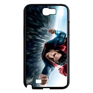 Superman Samsung Galaxy N2 7100 Cell Phone Case Black as a gift U0666918