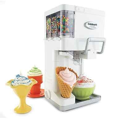 Cuisinart Ice Cream Maker Frozen Yogurt Sorbet Soft Serve Automatic Freezer