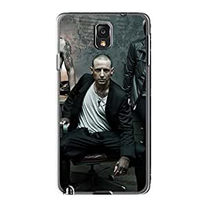 Anti-Scratch Cell-phone Hard Covers For Samsung Galaxy Note3 With Provide Private Custom High-definition Breaking Benjamin Image AlissaDubois