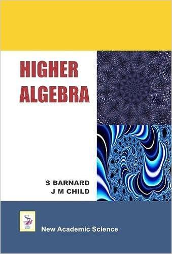 Higher Algebra Book
