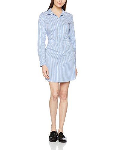 55g6 Stripes Comma Kleid Mehrfarbig CI Blue Damen YnqS0