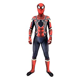- 41WxWAV639L - GMIOWEU Halloween Cosplay Costumes, Tight Bodysuit, Onesies, 3D Mask,Full Body Printing,Unisex Lycra Spandex Zentai