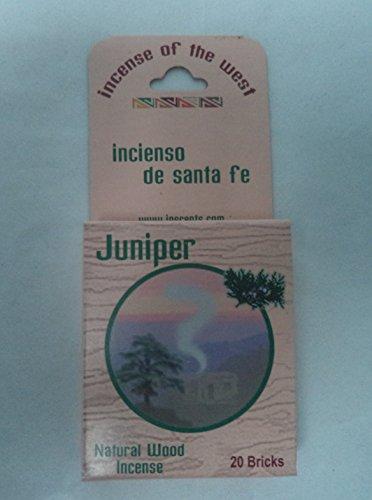 Inciensio Sante Fe: Juniper Wood 20 Incense