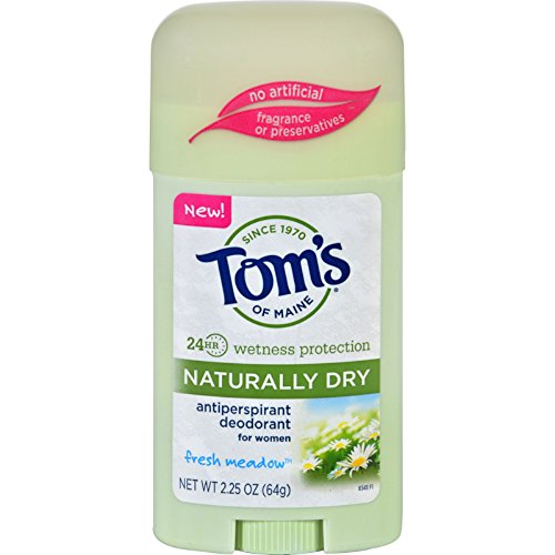 Toms of Maine Deodorant - Naturally Dry - Stick - Fresh Meadow - 2.25 oz - Case of - Maine Shopping