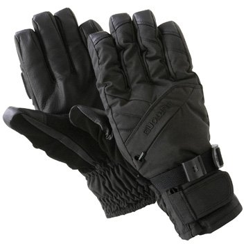 Burton Baker Under Gloves - Burton Mens Baker Under Glove True Black Large